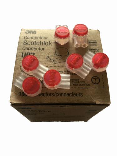 3M scotchlok connecteur UR2 2//3 fil 0,4-0,9mm 26-19 AWG CAT 5 RoHS de 5 a 100 pc