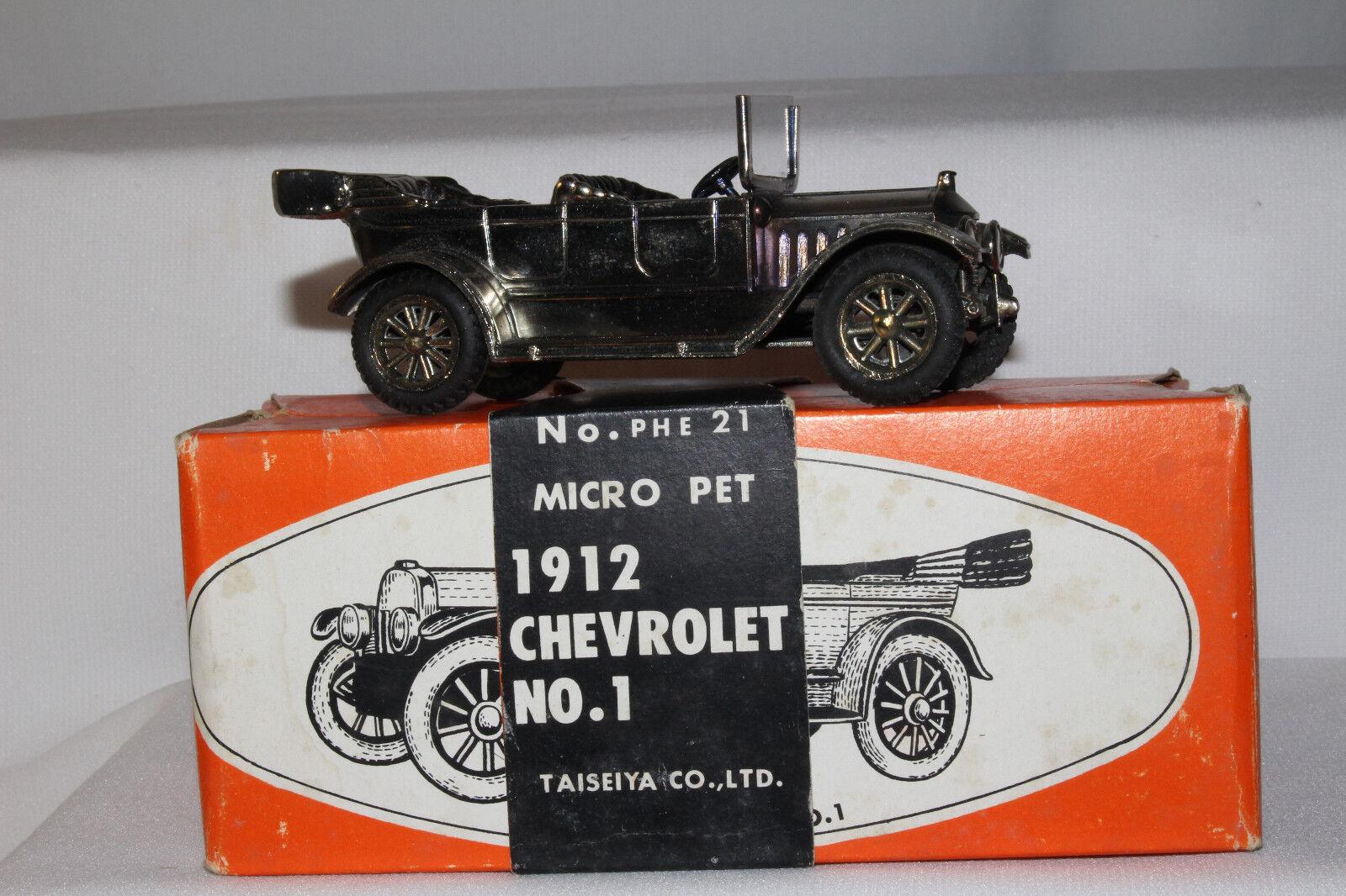 Micropet 1912 Chevrolet Touring Carro, hecho en Japón, 1 43 Escala Con Caja