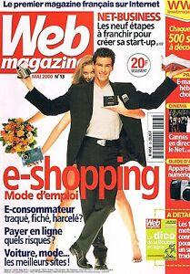 Prix Bas Avec Web Magazine N°13 Mai 2000 : E-shopping Officiel 2019