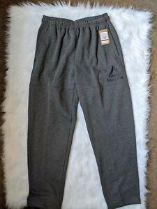 reebok sweatpants grey