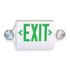 Lithonia Lighting Lhqm S W 3 G Exit Sign With Emergency Lights