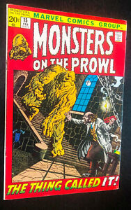 MONSTERS-ON-THE-PROWL-15-Marvel-February-1972-F-Or-Better