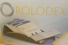 Opened Box Rolodex 67261 Business Card File With 200 Slotted Cards By Sanford