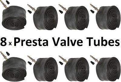 700 x 18//25c 80mm Presta Valve Inner Bicycle Tubes 18c 19c 20c 21 22 23c 24c 25c