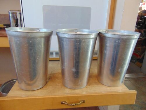 10  aluminum sap buckets  maple syrup buckets  # 147