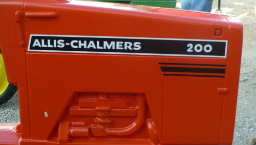 200 ALLIS-CHALMERS Pedal Tractor DECAL SET Ertl Toy FREE Ship Computer Cut