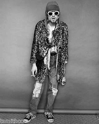 Kurt Cobain Nirvana 8x10 Photo 003