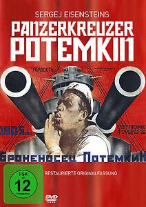 DVD-Panzerkreuzer-Potemkin-von-Sergei-Eisenstein-Restaurierte-Original-Fassung