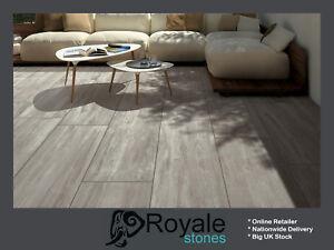 Details About Oak Wood Effect Porcelain Vitrified Paving Outdoor Patio Slabs New 900x450x20mm