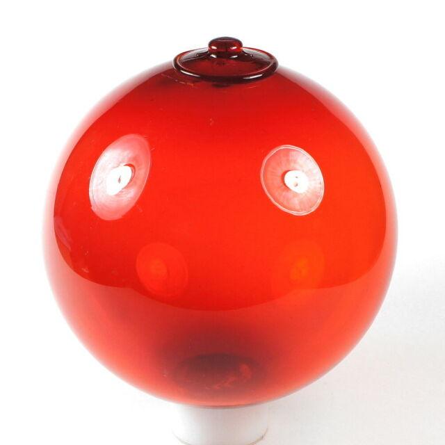große 60s/70s-Kugel! HOLMEGAARD! MICHAEL BANG, DÄNEMARK rot (red, Denmark, ball)