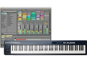 m audio keystation 88 mk2 mkii usb midi keyboard controller ableton live lite 694318015834 ebay. Black Bedroom Furniture Sets. Home Design Ideas