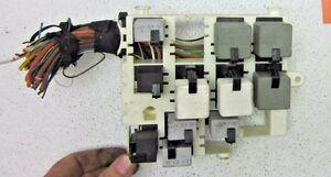 [DIAGRAM_38ZD]  99 00 01 02 03 SAAB 9-3 93 FUSE BOX RELAY SWITCH WIRE PANEL 2.0L TURBO  ENGINE OE | eBay | 1999 Saab 93 Fuse Box |  | eBay