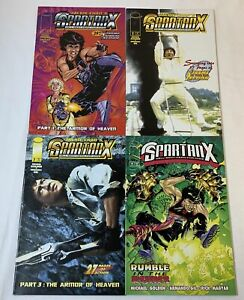 Image-Comics-JACKIE-CHAN-SPARTAN-X-1-2-3-4-FULL-SET-Hell-Bent-Hero-For-Hire