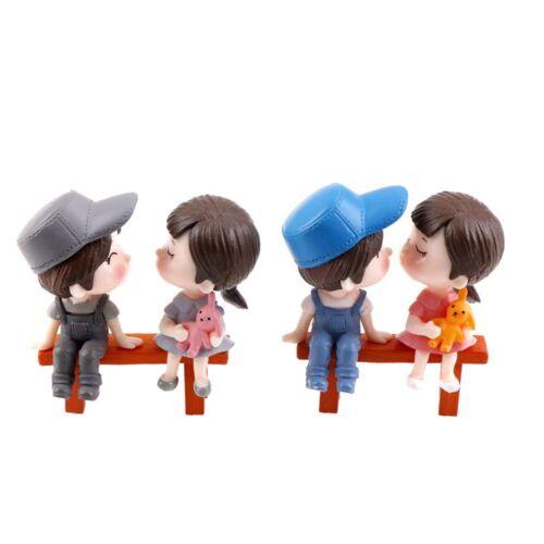 Cute Couples Lovers Micro Landscape Home Decor Dollhouse Decor Terrarium HOT