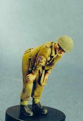 Resicast 1//35 Fully Equiped Paratrooper British Airborne Standing WWII 355523
