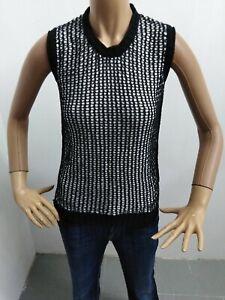 Maglia-DIESEL-Donna-taglia-size-S-maglietta-t-shirt-woman-polo-cotone-p-5463