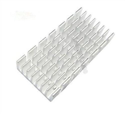 5 Stücke Kühlkörper 50X25X10MM Silber Slot Heatsink Pcb iw