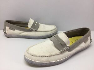 66d56ec8e7f Cole Haan Grand OS Pinch Maine Classics Canvas Suede Penny Loafers ...