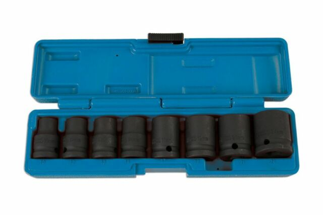 "Laser Tools 6490 Socket Set - Impact 1/2""D 8pc"