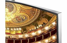 "Samsung UN55HU9000AFXZA 55"" Full 3D 4K UHD LED LCD Smart TV"