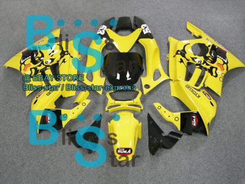 Yellow Glossy INJECTION Fairings Bodywork Fit Set  CBR600F3 1995-1996 04 B5