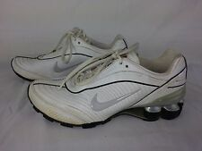 separation shoes f2d01 6778c item 2 NIKE SHOX WHITE LEATHER Women s RUNNING GYM SHOES NON-MARKING SIZE  7.5 -NIKE SHOX WHITE LEATHER Women s RUNNING GYM SHOES NON-MARKING SIZE 7.5