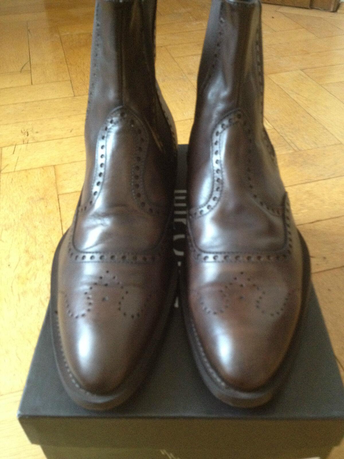 BROS des Chelsea Bottines bottes Bottine cuir marron us 11.5 eur 45 UK 10.5