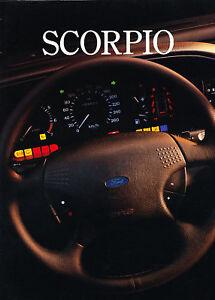 1994 Ford Scorpio Dutch Sales Brochure Prospekt