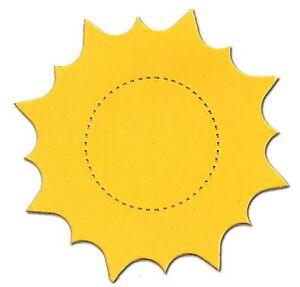 AccuCut Sunflower Die Cuts