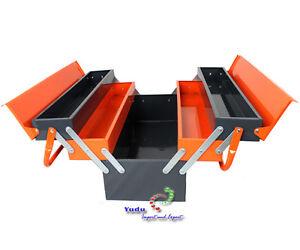 Werkzeugkasten Werkzeugbox Werkzeugkiste Koffer Metall  **B - Ware**