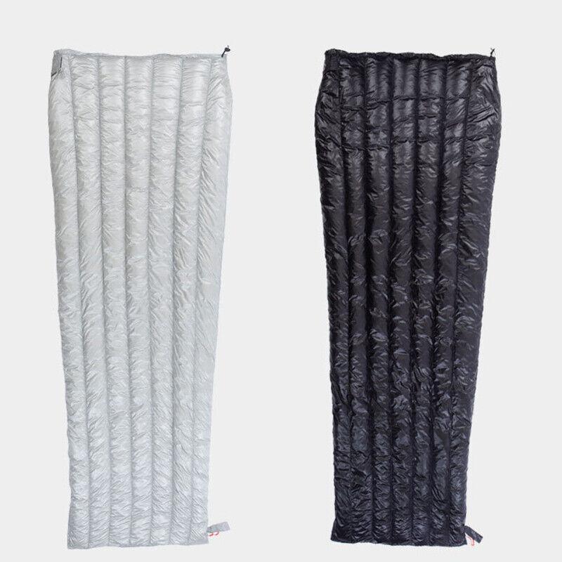 Aegismax Ultraleicht Gänsedaunen Schlafsack für Außen Zelten Umschlag M, L