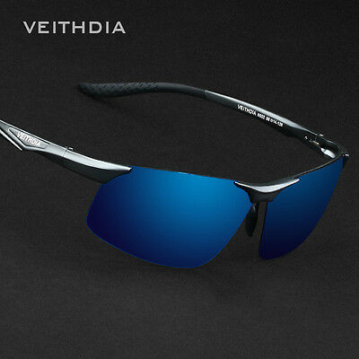 Veithdia Mens Aviator Aluminum Polarized UV400 Sunglasses Driving Sports Eyewear