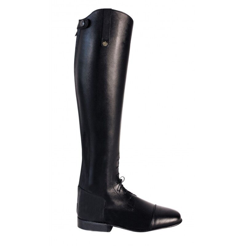 Königs Riding boots Alex black sl 7 1 2 H54 W36 jumping boots with elastic lac