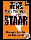 Spanish Teks 4th Grade Math Test Prep for Staar by Teachers' Treasures (Paperback / softback, 2014)