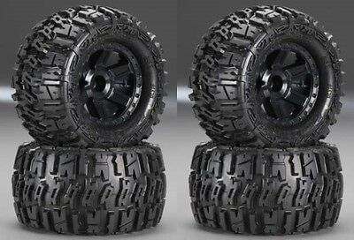 "Pro-Line Racing Trencher 2.8"" Mounted Wheels/Tires Stampede 4x4 (4) 1170-12"