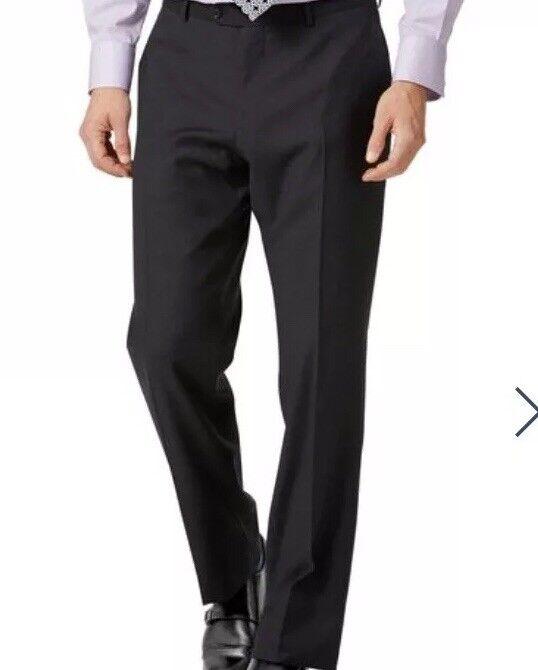 Charles Tyrwhitt Charcoal classic fit twill twill twill suit trousers W38 L32  BoxE103 e2ffe1