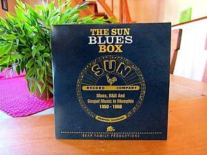 "The Sun Blues Box  ""Bear Family Records""   CD  Sampler"