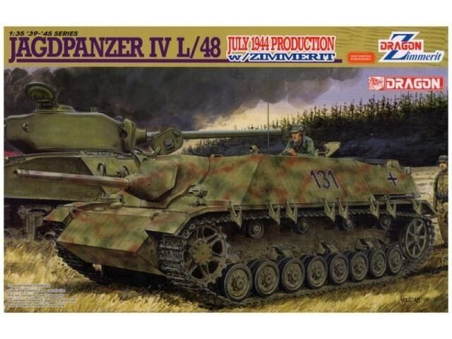 DRAGON 6369 1 35 Jagdpanzer IV L 48 July 1944 Production w Zimmerit