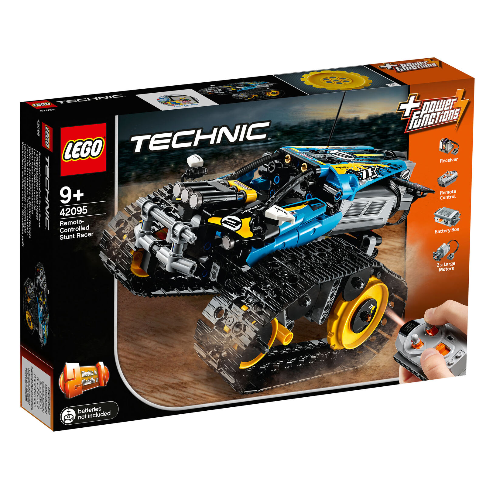 42095 LEGO Technic Remote-Controlled Stunt Racer 324pcs Age 9+ New Release 2019