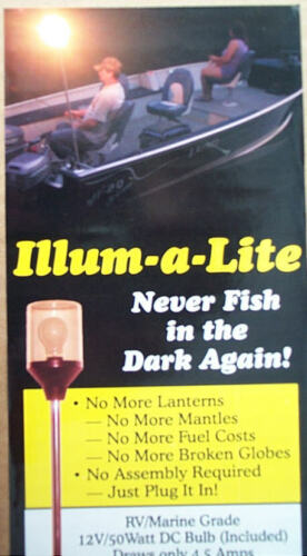 Night Fishing Boat Stern Light Bass Crappie Walleye use with Perko or Atwood