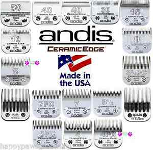 ANDIS-CERAMICEDGE-amp-Steel-Detachable-BLADE-Fit-AGC-AGR-AG-MBG-Endurance-Clippers