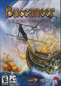 Details about Buccaneer The Pursuit of Infamy - Rare Pirate Ship Adventure  Combat Sim PC Game