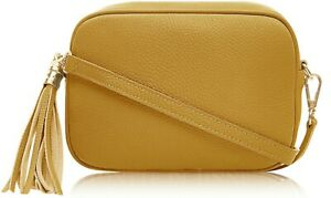 ladies-Italian-leather-mini-disco-clutch-cross-body-shoulder-bag-with-tassel