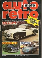 AUTO RETRO 50 DELAHAYE 235 PACKARD 50 54 CARLO ABARTH TRIUMPH TR7 SPIDER EUROPA