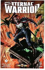 Wrath of the Eternal Warrior #1 Exclusive ATOMIC COMICS VARIANT - Valiant !!