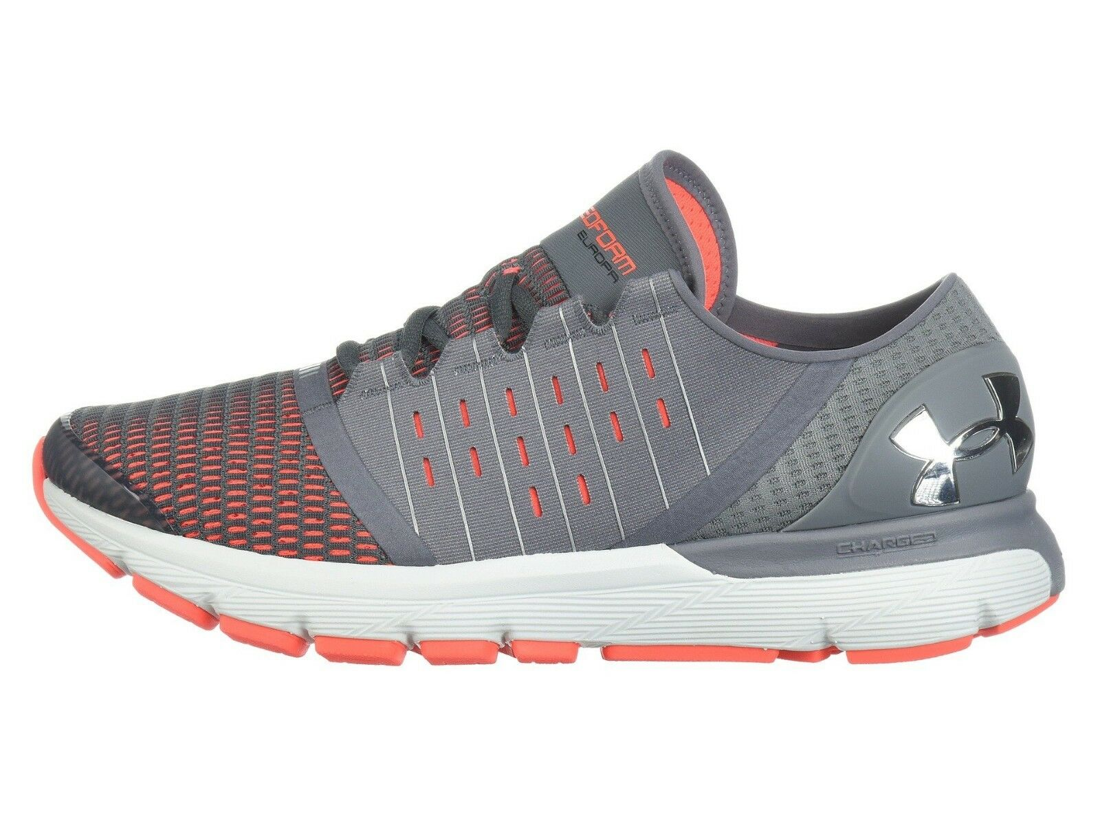 Under Armour hommes Speedform Europa Running Chaussures 1285653-101 Gris Gris Gris Orange 8c6e33