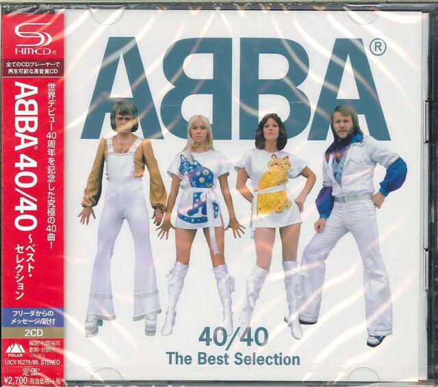ABBA-ABBA 40/40 - BEST SELECTION-JAPAN 2 SHM-CD+BOOK G09