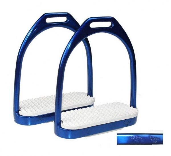 Estribo Acero Inox. Inox. Inox. Azul con Certificado 11,5 Cm Arbo-Inox  garantizado