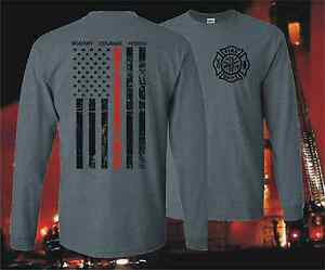THIN-RED-LINE-HONOR-FLAG-LONG-SLEEVE-FIREFIGHTER-FIRE-DEPARTMENT-T-SHIRT