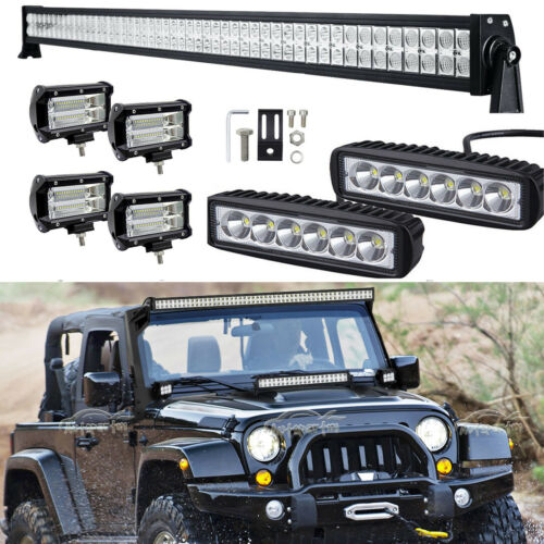 5INCH 72W LED Light Work Bar Lamp Driving Fog Offroad SUV 4WD Car Boat Truck